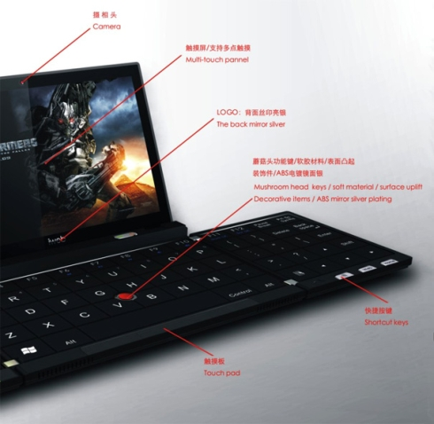 iWeb 2.0 Smartphone/Laptop Concept is Lightweight, Foldable