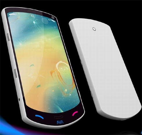 AVA Mobile Phone Uses a Roll Out Display, Nano Technology