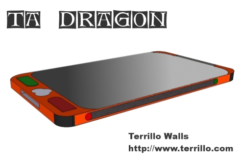 TA Dragon Concept Phone is... Slim