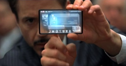 Iron Man 2 Technology Includes LG Transparent Smartphone (Video)