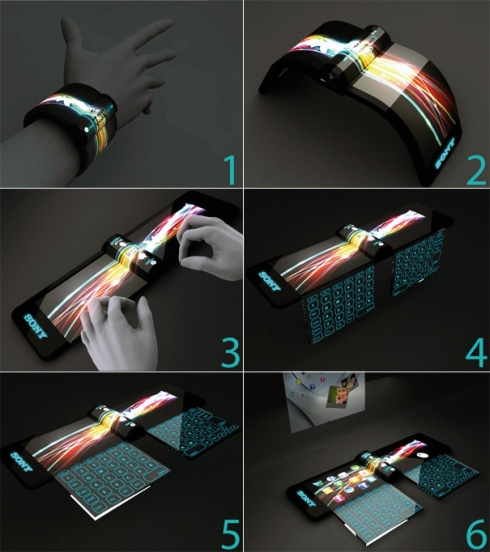 Sony Wrist Computer is an Incredible Design of the Year 2020