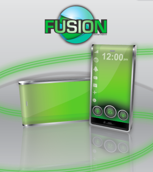 LG Fusion Incorporates a Mobile Scanner, Wraparound Screen