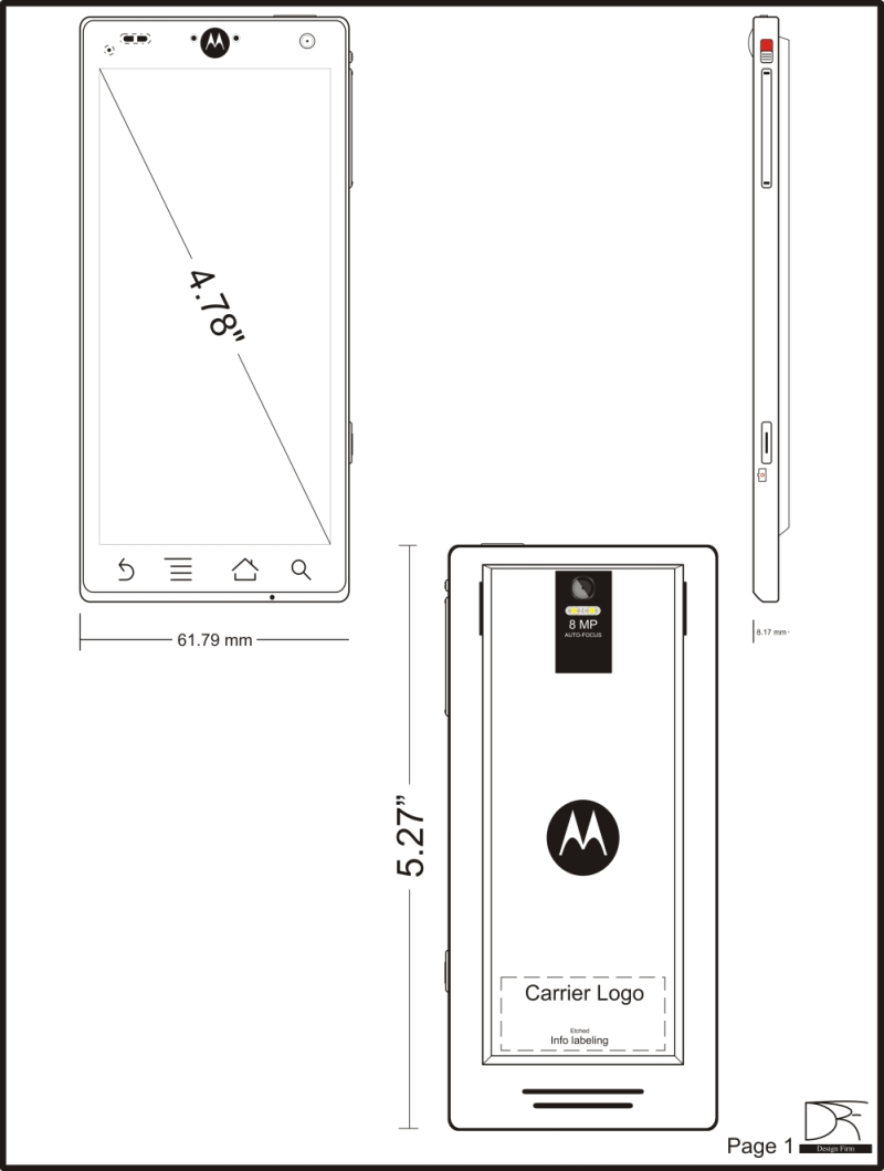 Motorola Android Concept Phone Features Dual Core ARM A9 CPU