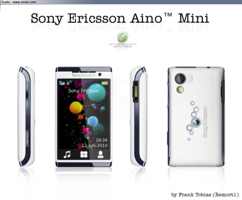 Sony Ericsson Aino Mini, a Tinier Version of SE Aino