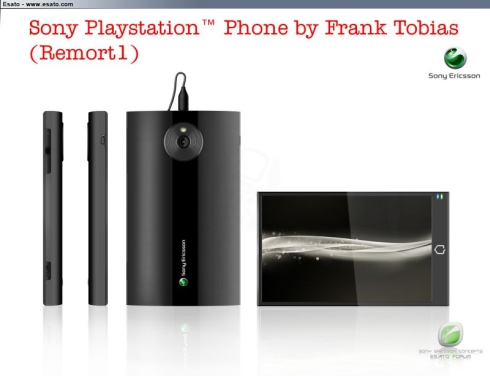 Sony Playstation Phone, by Frank Tobias; Its been a While...