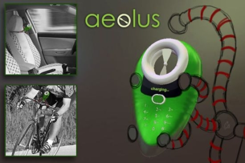 Aeolus Phone is a Sustainable Piece of Work, Based on Solar and Wind Power