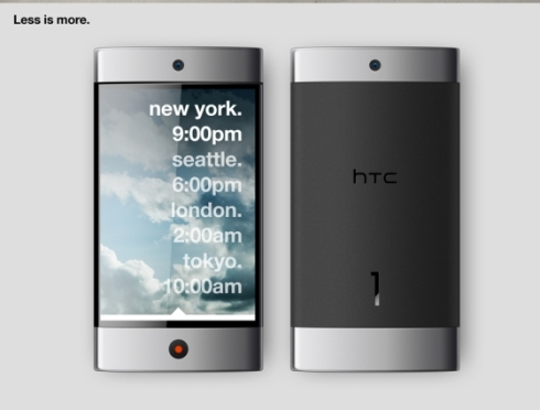 HTC 1 Concept Created by Andrew Kim Would Look Good in Real Life