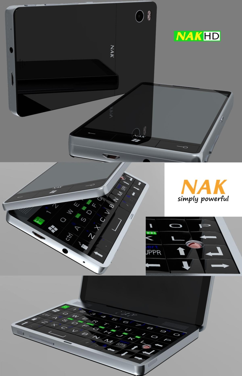 NAK HD is a Dual Core 1.2 GHz Snapdragon Based Smartphone