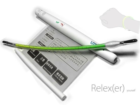 Relexer Phone Design Updates Folks on Their Vital Signs