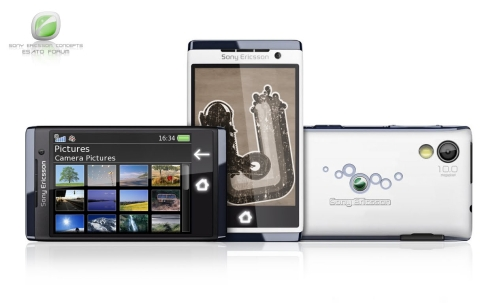 Sony Ericsson Aino Mini, New Frank Tobias Phone Design