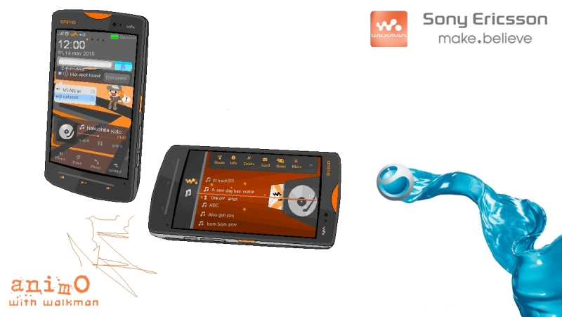Sony Ericsson Animo With Walkman, Return of the Music Phone