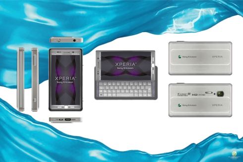 Sony Ericsson XPERIA XTX1 Pro Adds a QWERTY Keyboard to the Original Design
