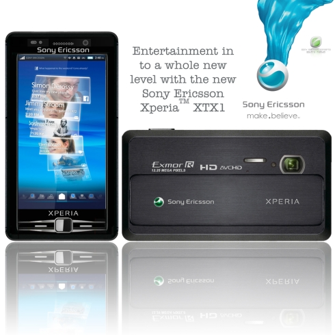 Sony Ericsson XPERIA XTX1 Design Packs an Exmor 12MP Camera