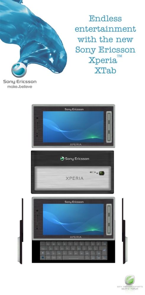 XPERIA XTab, Smartphone Concept Becomes a Tablet