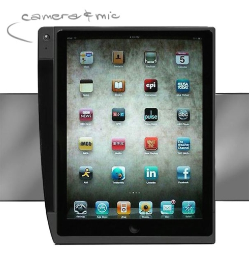 iPad Gets Camera Via Concept Case Accessory