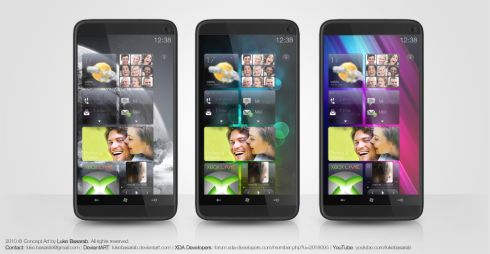 HTC HD3 Concept Runs Windows Phone 7, Uses HTC Sense 3