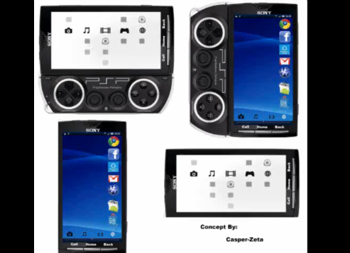 New PSP Phone Design Shown On Video