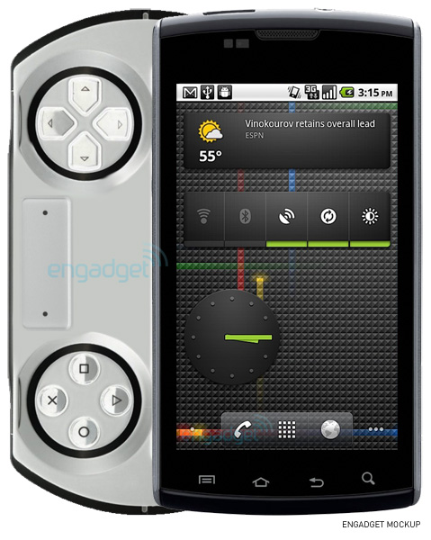 PSP Phone Revived, Made by Sony Ericsson and Based on Android 3.0 (Gingerbread)