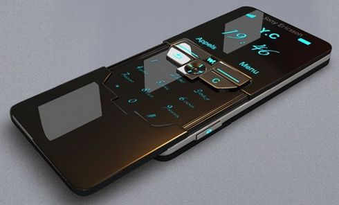 iPhone 4 Design Inspired by  3 Year Old Sony Ericsson Concept?