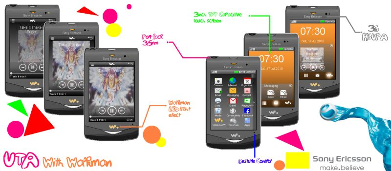 Sony Ericsson Walkman UTA, Revival of the Music Phone?