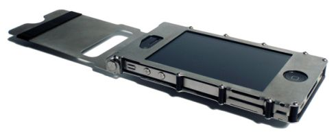 iPhone 4 Steel Case Solves the AntennaGate 2010 Issue