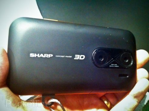3D content without those pesky glasses. Sharp says that this 3D display