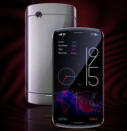 Flex Click Cellphone Really Makes Your Feel the Touchscreen Click