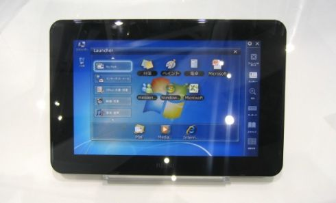 Fujitsu Unveils Windows 7 Tablet Concepts at CEATEC 2010