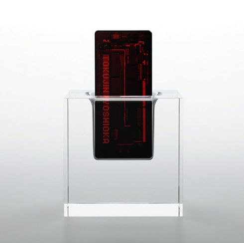 X RAY Transparent Phone Stuns Us; Hardcore Industrial Design