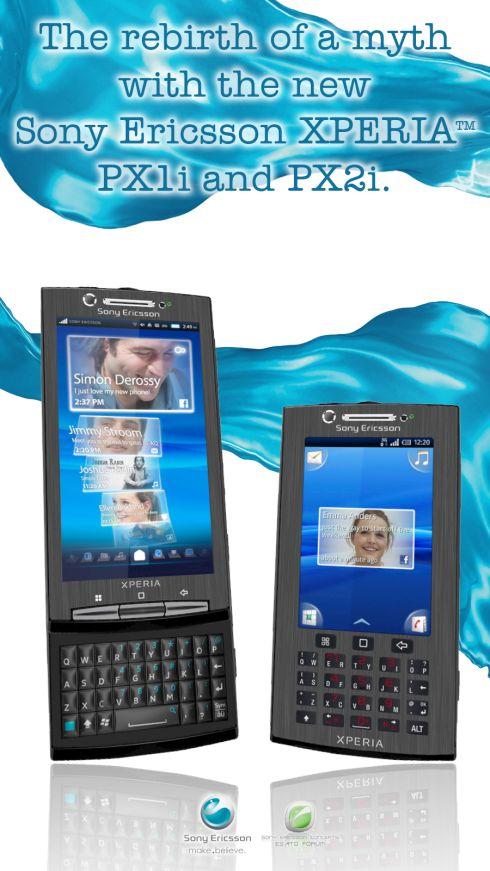Sony Ericsson XPERIA PX1i and PX2i: Esato is Back
