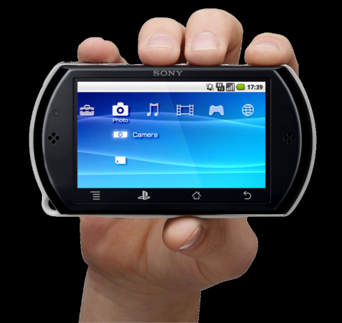 Sony PlayStation Portable Phone Design, Based on Android 2.2 and 3.8 Inch Touchscreen
