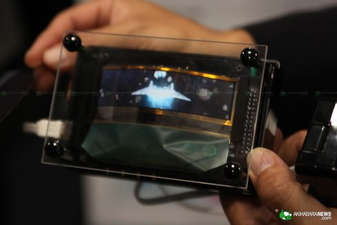 CEATEC 2010 Hosts TDKs Flexible OLED Displays; Hands on Photos Here!