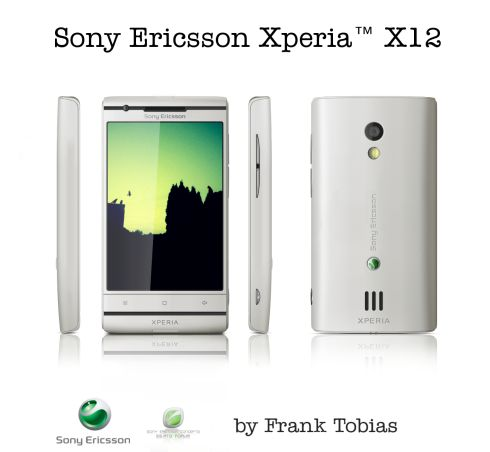 XPERIA X12 Looks Like HTC Material