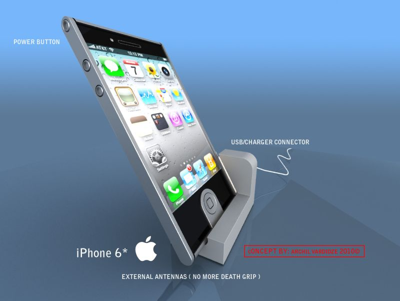 iPhone 6 Concept Takes Us Even Further Into the Future