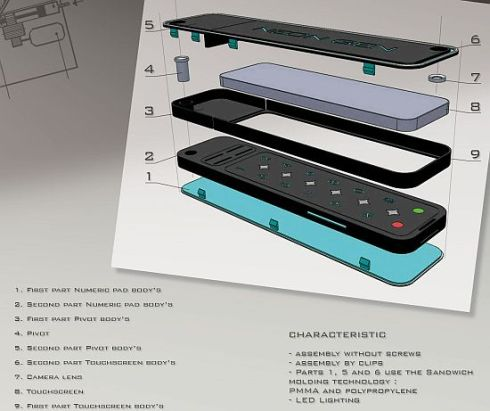 Neongen Cellphone Concept is Extremely User Friendly