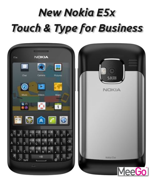 Nokia E5x Concept, Business Meets MeeGo