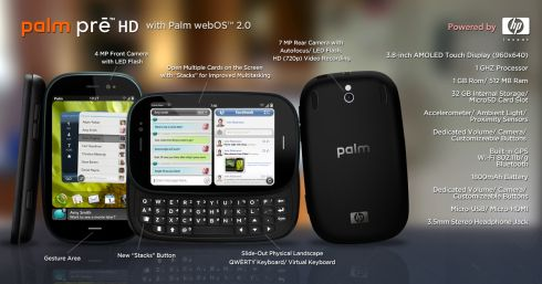 Palm Pre HD, the Pre 2 That Could Have Been