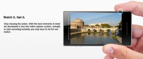 Porsche Design Smartphone Captures 3D Images