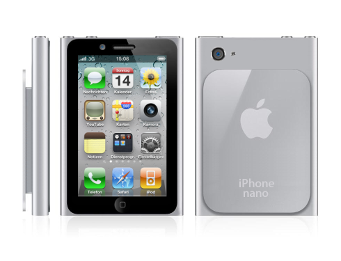 Apple iPhone Nano, All that Love, Smaller Screen