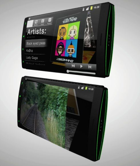 Triple Display Phone is Unbelievably Cool, Features Flexible Screens (Video)