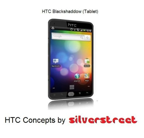 HTC Blackshaddow, a Very Original and Interesting Approach to the HTC Tablet