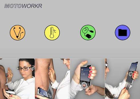 Motoworkr Handset Checks Your Health