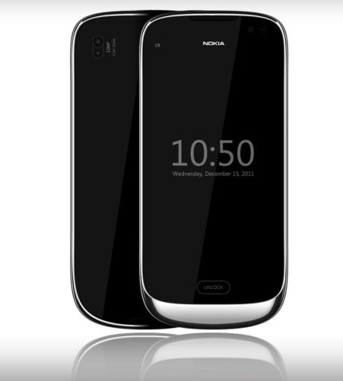 Nokia C8 Symbian Handset Design, Created by Madgy