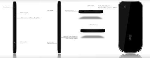 Nokia C8 Symbian Handset Design, Created by Madgy