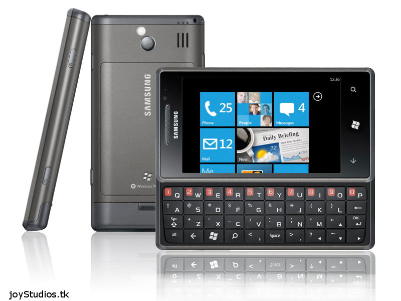 Samsung Omnia 7 Pro Windows Phone 7 Design Looks Appealing