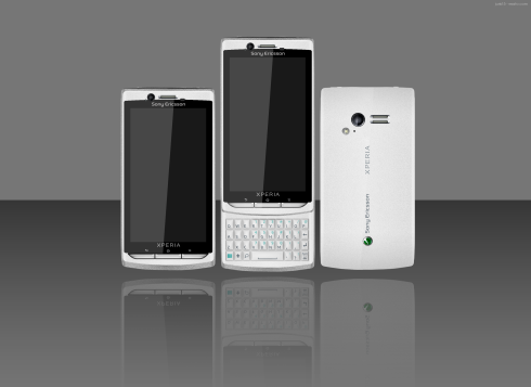 Sony Ericsson Xperia Ryo: Portrait QWERTY is Fashionable Once More