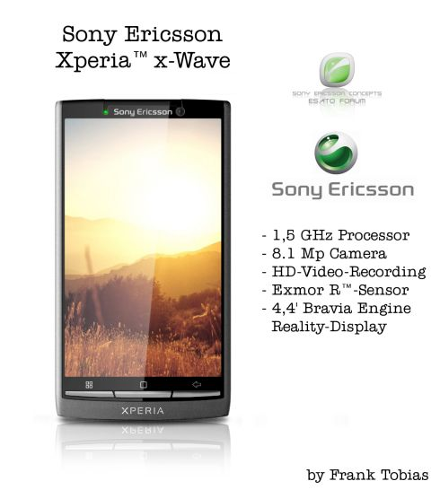 Sony Ericsson XPERIA X Wave Features 1,5GHz CPU