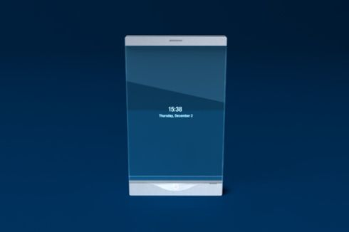 Thru, Lucent Transparent Phone Design, by Mac Funamizu