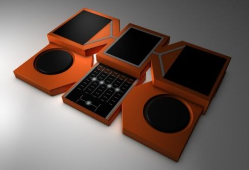 Grandwizard Phone Makes You a DJ, Allows You to Remix Media Files