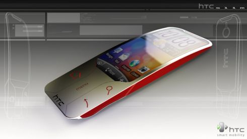 HTC Slim, the Definition of Curves, Designed by Sylvain Gerber